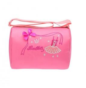 ee5ac29d57a8 Light pink canvas waterproof shoes embroidery decor girls children ...