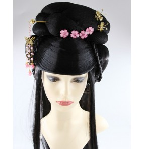 beautiful princess hair women princess hair wigs ancient chinese drama film cosplay performance wig vintage wig