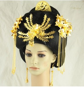 Ancient princess wig long princess Queen empire cosplay hair han dynasty wig ancient chinese wig for women halloween cosplay
