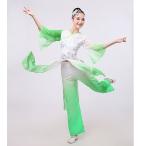classical woman traditional chinese folk dance dance costumes for women children kids girls china national ancient dress costume