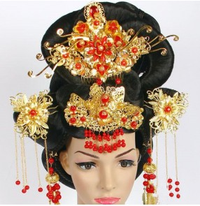 Ancient princess queen fairy wig long princess cosplay hair han dynasty wig ancient chinese wig for women cosplay