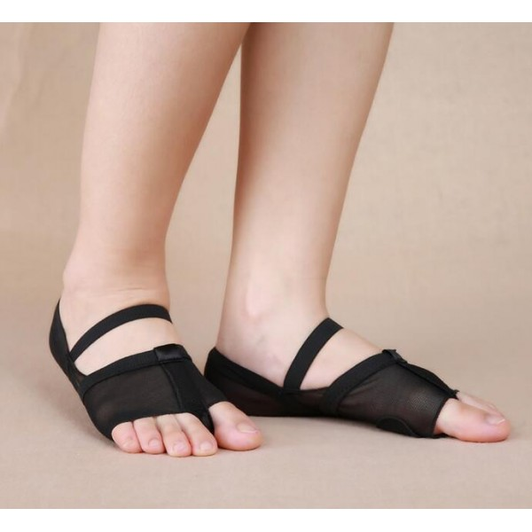 Belly Dance Toe Pad Ballet Dancing Practice Shoes Foot Cover Socks Protection