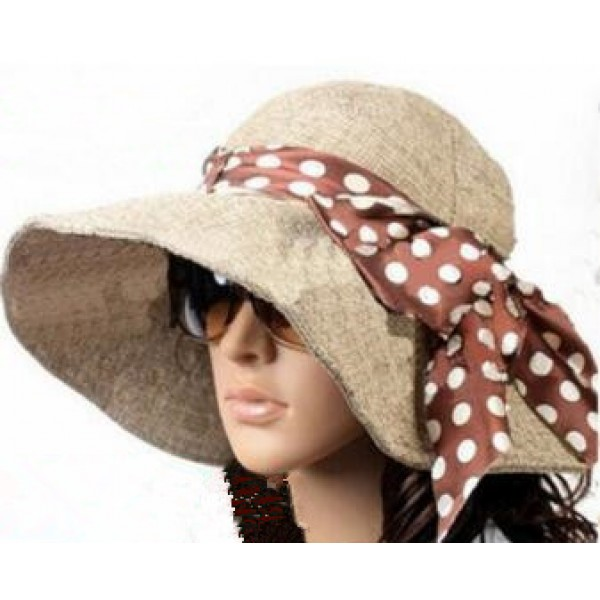 d11ddf577c5229 Linen Summer Hat Women Wide Brim Sun Hat Wedding Church Sea Beach Hats for Women  Floppy Ladies Hat with Bow