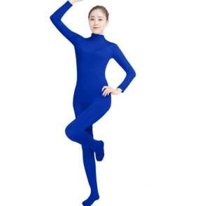 Neon colorful colored lycra spandex women's kids children stage performance cosplay party rehearsal dancing unitard leotard bodysuits