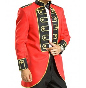 New Stage Costumes Club Singer jazz night club drama dance jackets Black RED Gold Blazer Stage Black Red Gold Blazer Men