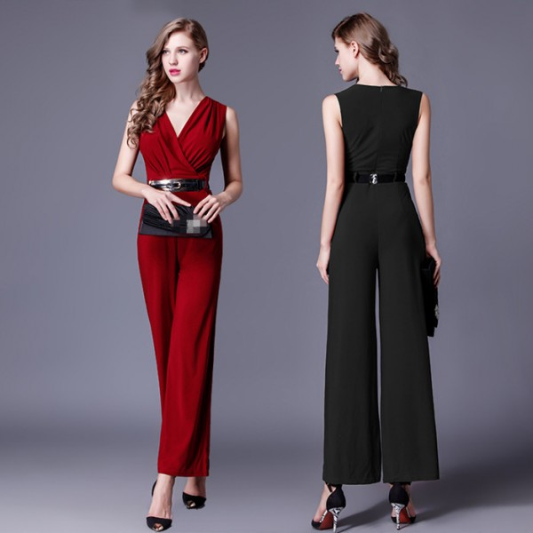 80be047b454f wine-red-black-women-jumpsuit-v-neck-long-wide-pants-overalls-elegant- rompers-bow-playsuit-combinaison-femme-6783-600x600.jpg