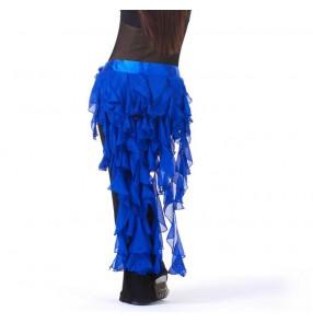 Women's long tassel belly dance costume belly dance hip scarf ( only hip scarf)