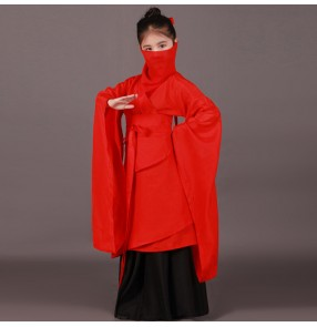 Children Chinese folk dance Traditional fairy chivalrous film cosplay performance Costumes Uniforms for Kids Girls Stage Performance dresses