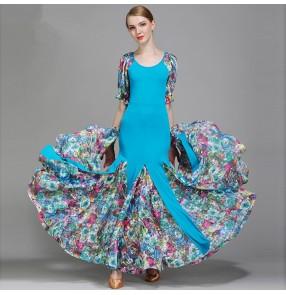 Ballroom Dance Dresses vestido de danza de vals Standard Stage Costume Performance women's Smooth Modern Waltz Tango dress