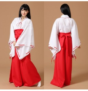 Kimono Japanese psychic Cosplay Costume Full Set Custom Made Halloween Carnival Anime cosplay costume For Girl Women Clothes