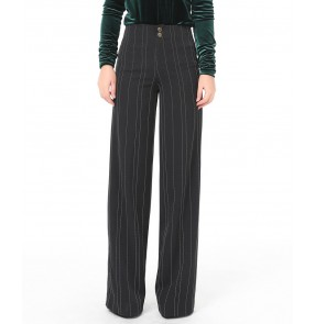 Women lady Ballroom dance costumes senior striped ballroom dance trousers for women ballroom dance long pants