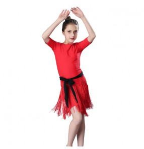 Girls latin dance dress competition performance professional ballroom salsa chacha dance dress
