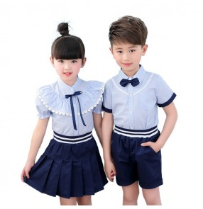 Kids school uniforms toddlers girls boys stage performance singers chorus photos cosplay outfits