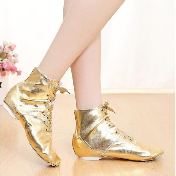 eaa93c3bd543 leather-jazz-dance-shoes-for-women-girls-ankle-length-boots -ballet-jazzy-dancing-shoe-gold-silver-teachers-s-modern-dance-exercise- shoes-7870-600x600.jpg