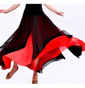 modern dance women's female competition performance ballet dance long skirts
