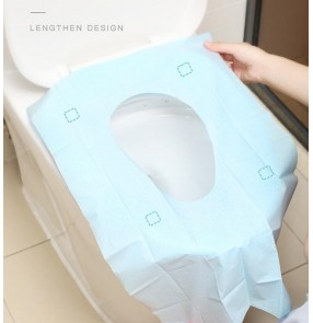 10pcs Disposable toilet cushion thickened toilet cover paper cushion travel hotel waterproof sanitary pad for toilet