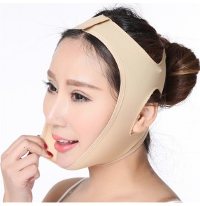 Breathable slim face Bandage v face device belt sleep face-lift mask face-lift tool for women