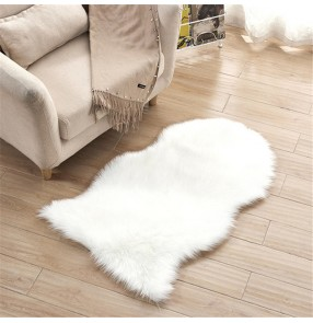 Fashion Home Irregular faux fur Carpet Bedroom Mat Window Mat Office Chair Mat Sofa Mat