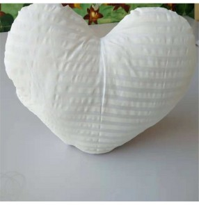 Nordic style Heart shape pillow case filling stuffed material pp cotton pillow core for heart shape cushion home decor