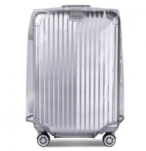 transparent pvc cover for luggage trolley case dustproof anti-dirt protective cover for travel case
