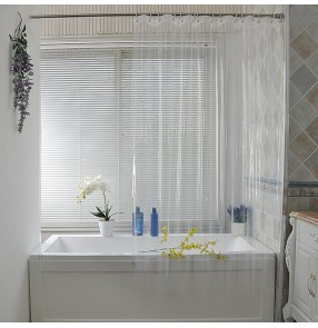 Transparent Shower Curtains Bath Screen Waterproof Products Bathroom Decor bath curtains