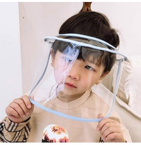 2CPS anti-spitting anti-spray saliva clear face shield for kids children virus dust proof face mask