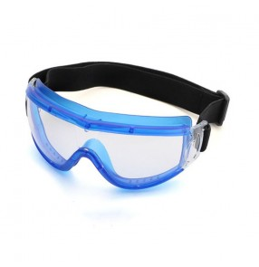 2pcs Anti-spitting goggles for kids pink blue Silica gel frame dustproof anti-fogging eye protection goggles14.5*6cm