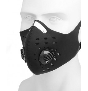 2pcs Reusable KN95 face mask for outdoor sports running Cycling valve Respirator facemask anti flu spitting dust proof activated carbon