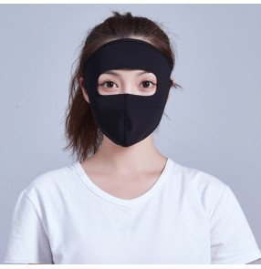 2PCS Reusable mask full face cover face mask anti-uv riding breathable dust proof outdoor mask for women