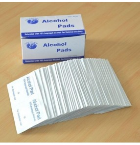 3box 300pcs Alcohol Wet Wipe Disposable Disinfection Pad Antiseptic Skin Cleaning Care Jewelry Mobile Phone Wipe
