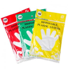 3packs disposable gloves for kitchen beauty salon use 300pcs