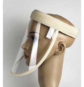 3pcs Anti-spray saliva face shield dust splash proof safety protective visor cap for women and men