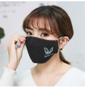 3pcs Reusable cotton face mask for women dust proof mouth mask