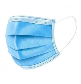 50PCS 3 layers Disposable face Masks Safe Breathable Mouth Face Mask Ear loop Face Masks Filter dust droplets CE Certified Personal Protection