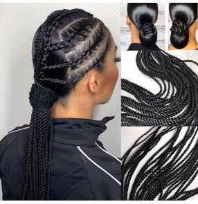 5pcs Professional British Blackpool National Standard Latin Ballroom competition braid Dance Hair Accessories for women girls