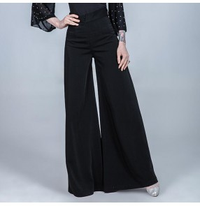 Women's ballroom dancing pants female latin dance swing trousers stage performance trousers