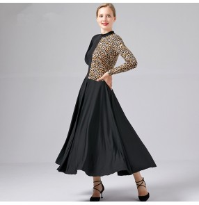 Women's ballroom dancing dresses stage performance waltz tango dancing dress