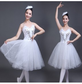 Women's girls modern dance ballet dresses stage performance competition ballet dance costumes