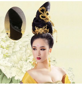 han dynasty empress wu zetian drama cosplay studio photos hair empress hair tang empress hair chinese ancient hair for women