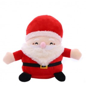 Cartoon Christmas Gifts Plush Toy Santa Dolls Christmas Eve Gifts 20cm in height