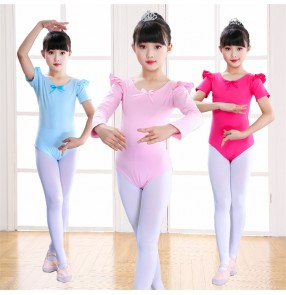 Children modern dance ballet girls latin dance modal leotards fitness gymnastics exercises stage performance bodysuits