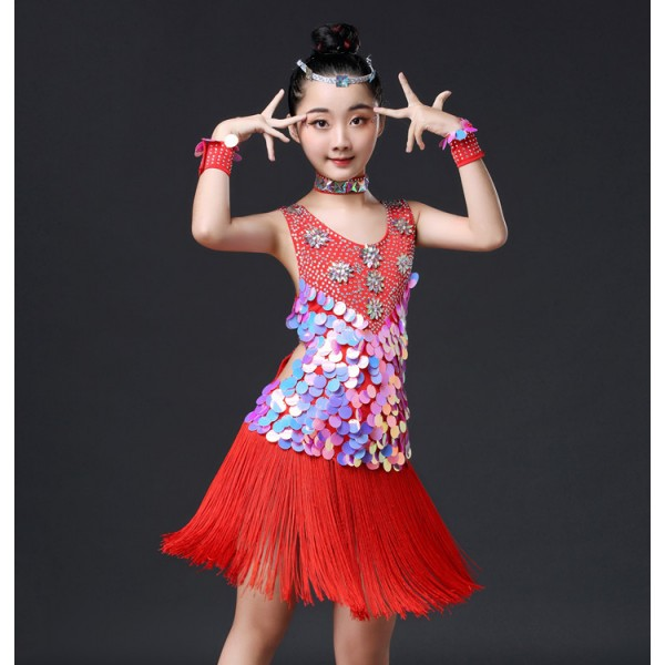 Red Performance Dress