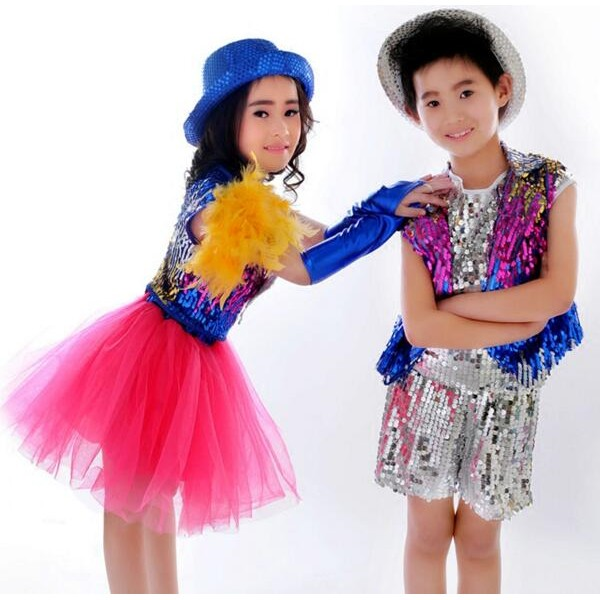 e51353ad12ac Fuchsia hot pink sequined boys girls kids children toddlers modern ...