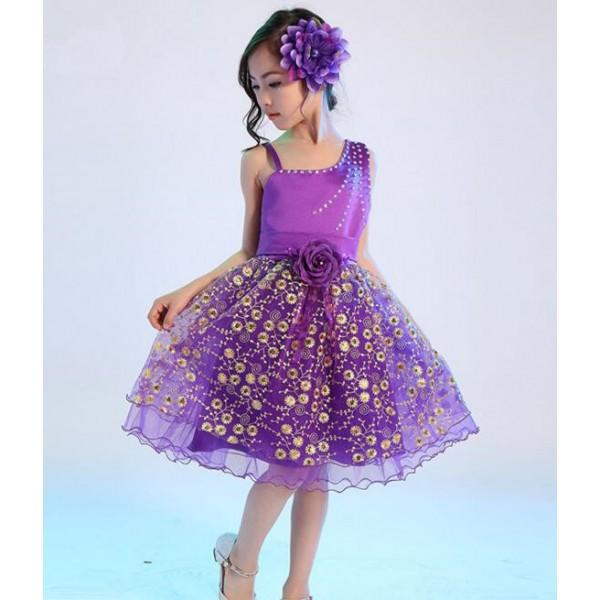 Fuchsia Princess Dresses