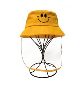 Antivirus spray saliva droplet fisherman's cap for kids children safety protect sun cap