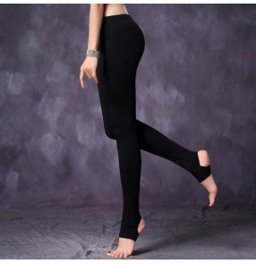 Belly Latin dance long pants practice clothes Modal leggings for women stepping pants tight-fitting practice pants women's bottoms