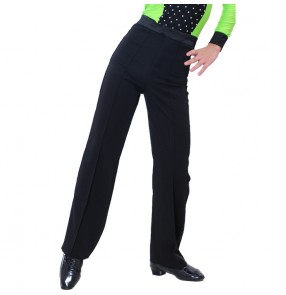 Boy Ballroom latin dance competition pants children's Latin dance pants kids Social Modern Dance Pants Latin Dance Pants for Boys
