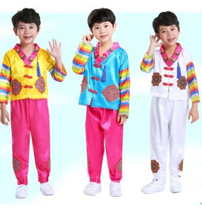 Boy Hanbok Korean Children Hanbok Boy Performance Costume Korean National Drama film cosplay Costume