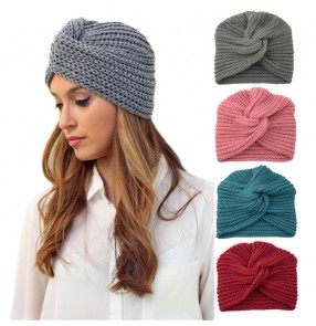 cashmere cross Indian hat Muslim hat  for unisex woolen knit hat pullover cap Bohemia cap for women and men