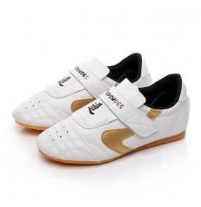 children adult Taekwondo wushu shoes boxing shoes sports fitness shoes men and women Tai Chi shoes training martial arts shoes